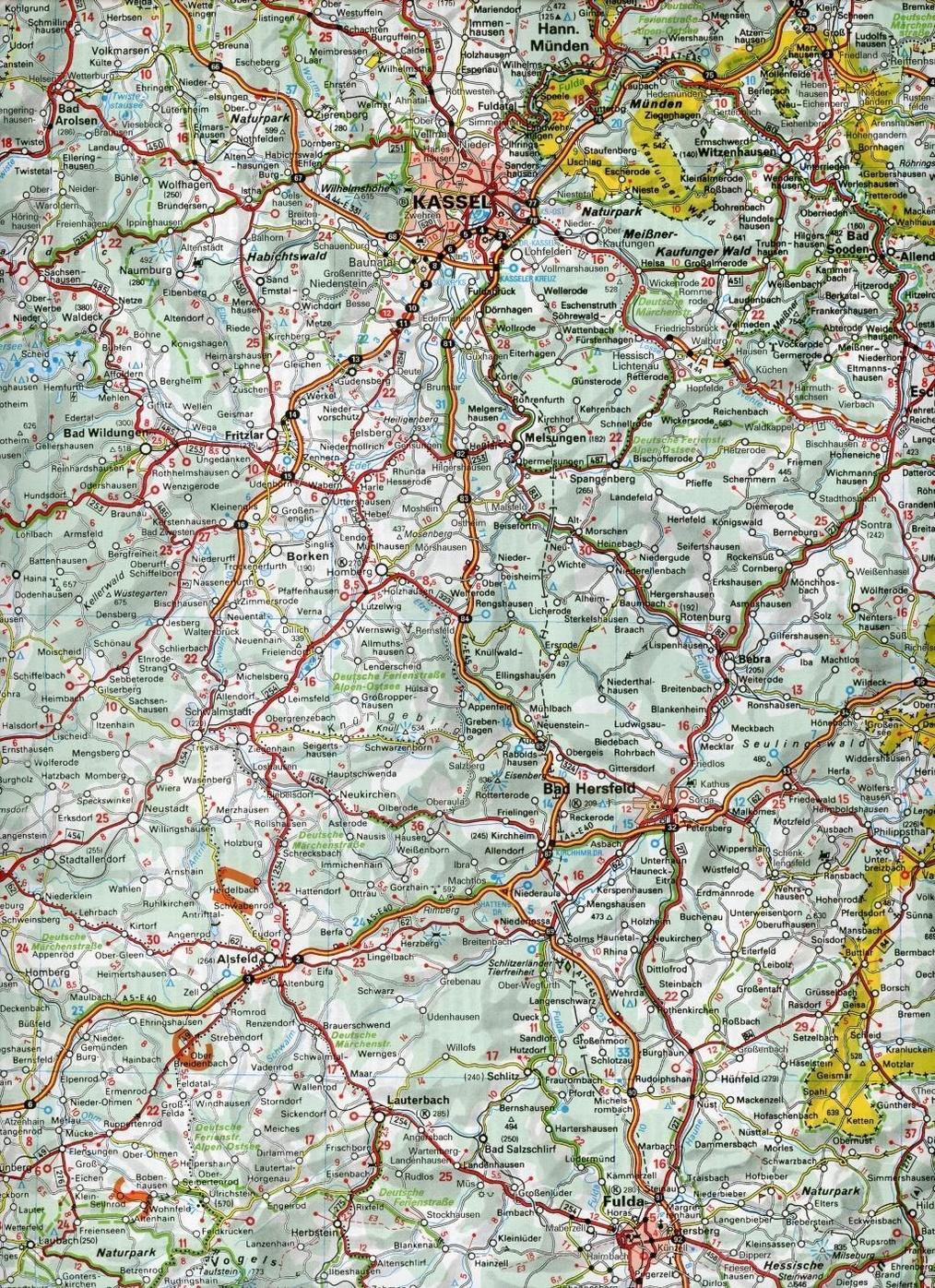Michelin Karte Nordrhein Westfalen Hessen Rheinland Pfalz
