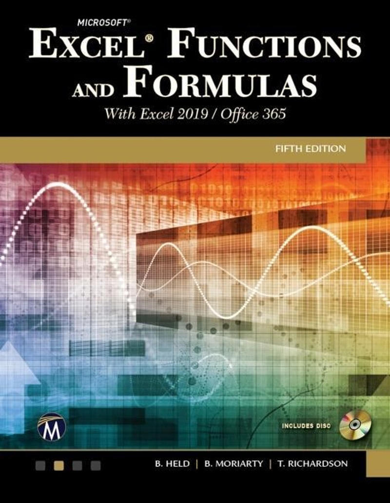 Microsoft Excel Functions and Formulas with Excel 20/Office 20 / Mercury  Learning & Information