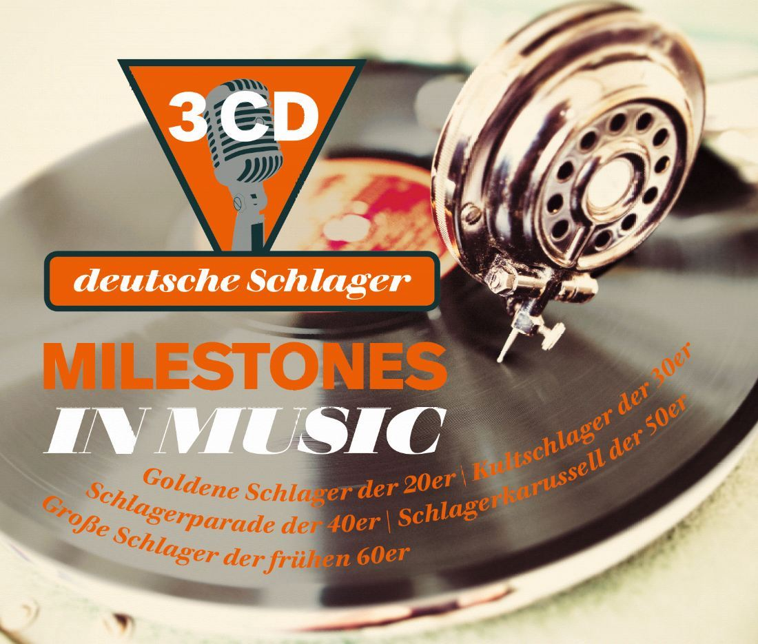 Die besten Schlager der Goldenen 20er & 30er Jahre, 10 CDs