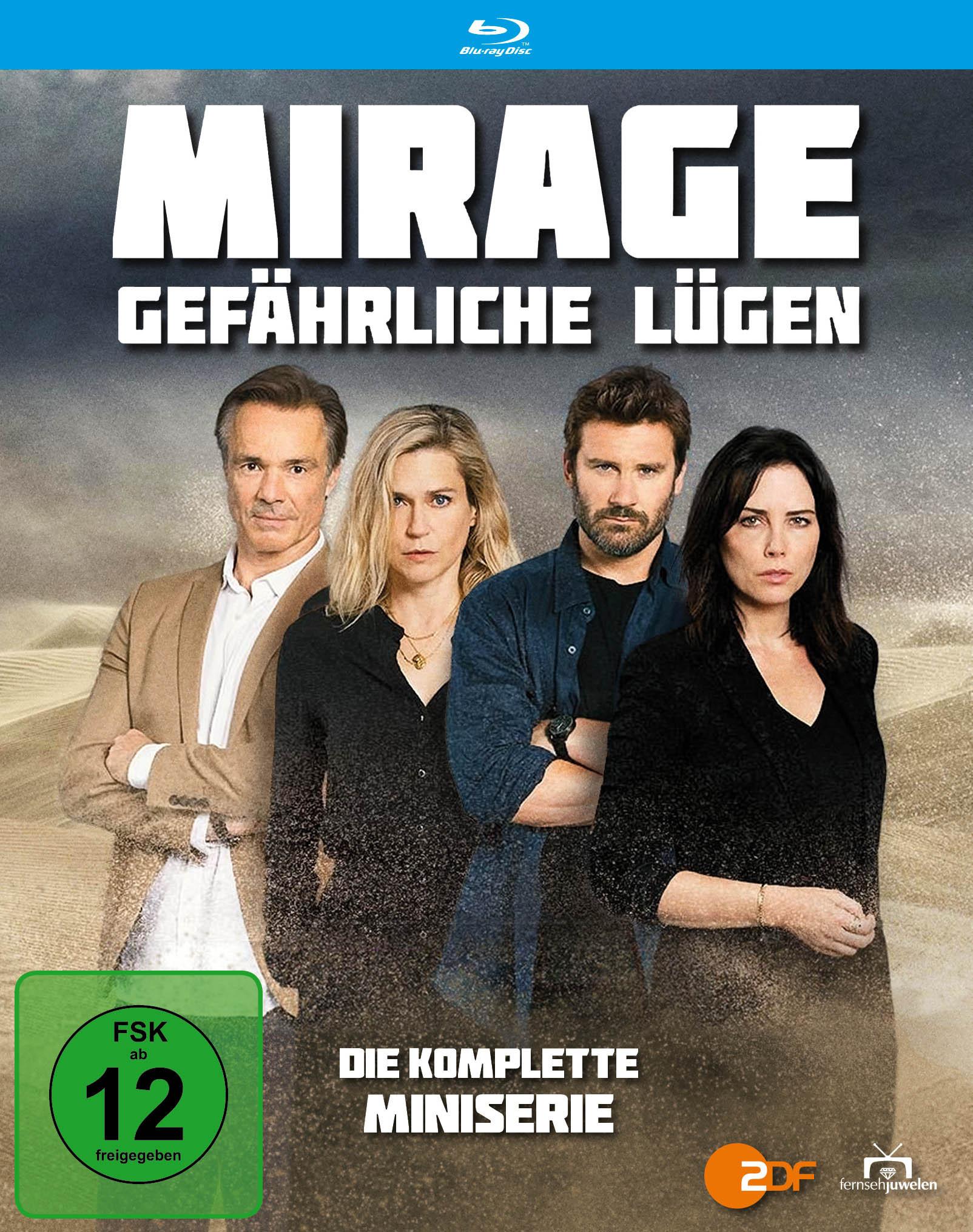 Image of Mirage-Gefaehrliche Lügen-Die Komplette Minis