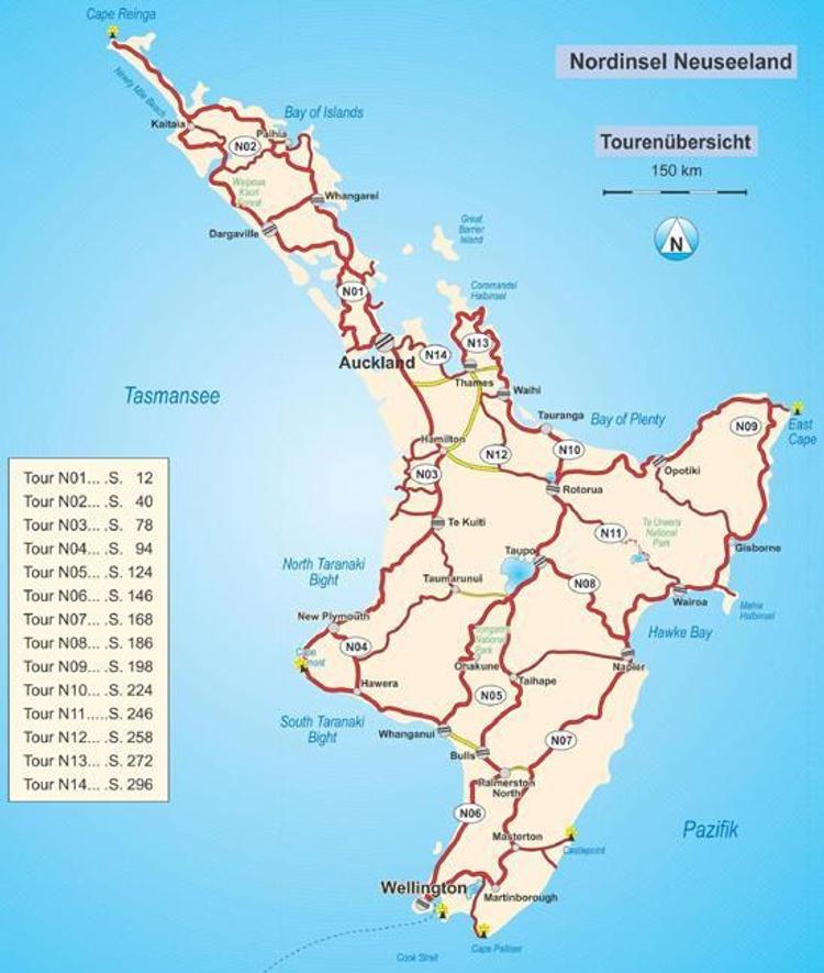 Mit Dem Wohnmobil Durch Neuseeland Nordinsel Buch Versandkostenfrei