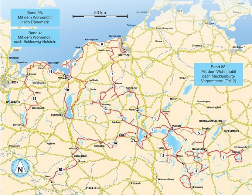 Ostseeküste vorpommern karte mecklenburg Mecklenburg