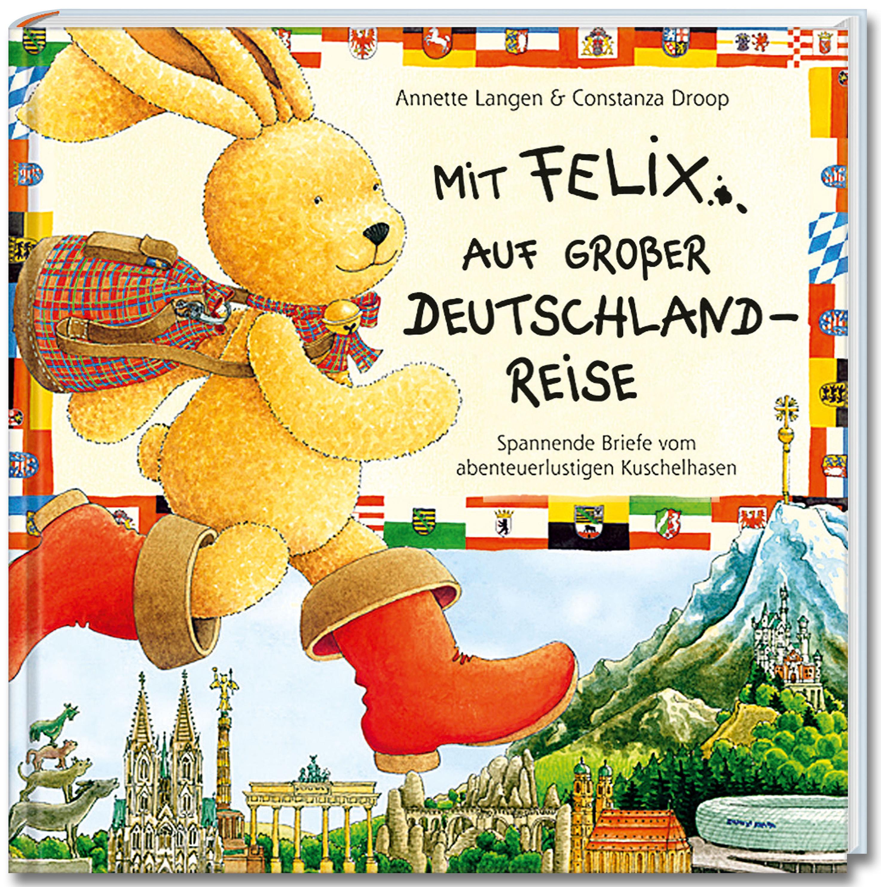 Mit Felix Auf Grosser Deutschlandreise Mit Puzzle Buch
