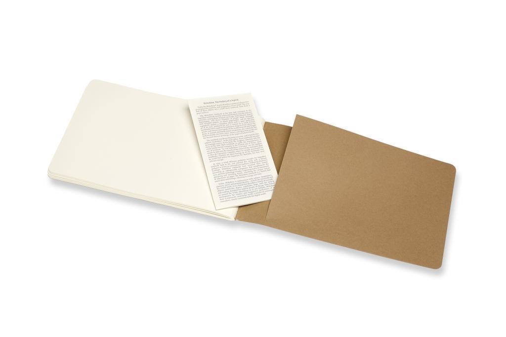 120g-Papier Packpapierbraun Moleskine Skizzenalbum Square