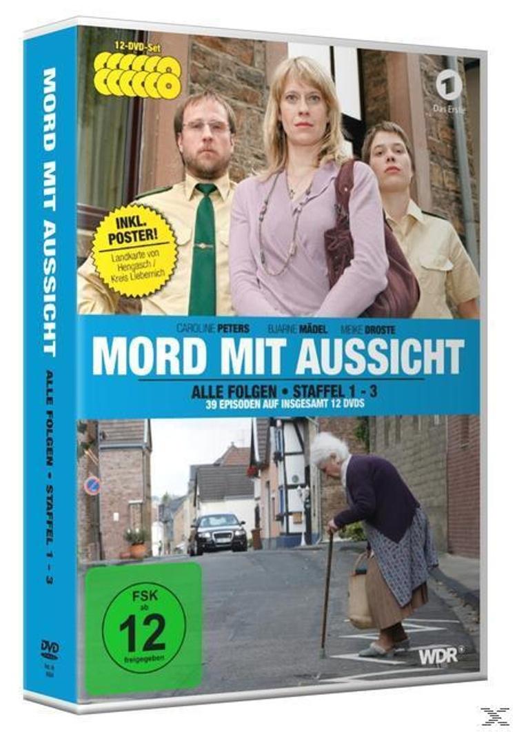 Mord Mit Aussicht Staffel 1 3 Inkl Landkarte Von Hengasch Kreis