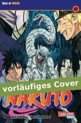 Naruto Bd.61 - der momentan tobt. Es scheint