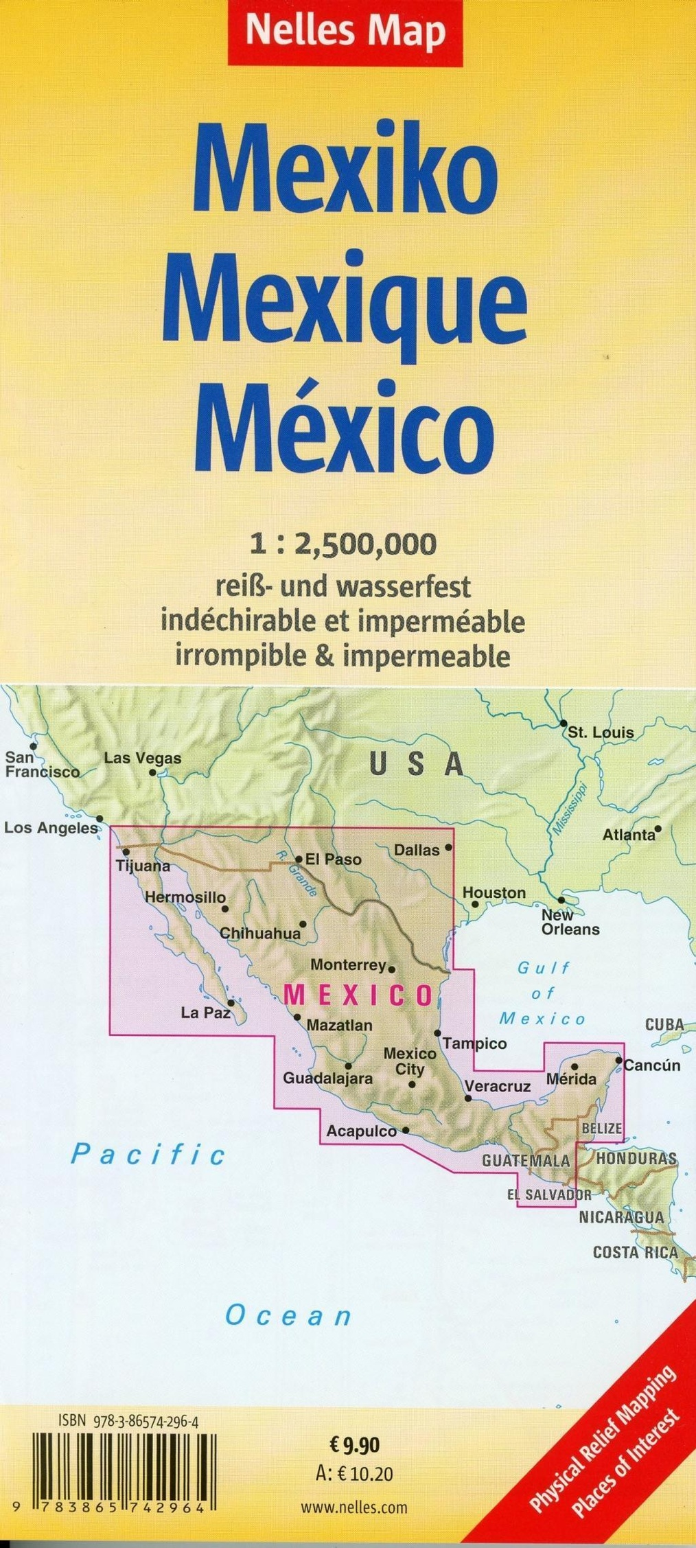 Nelles Map Landkarte Mexico Buch Bei Weltbild Ch Online Bestellen