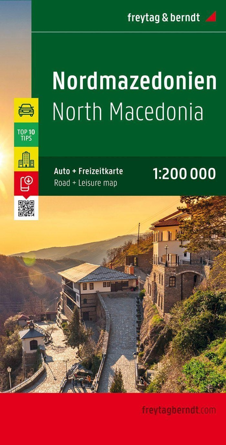 Nordmazedonien Autokarte Makedonija Macedonie Macedoine Macedonia Buch Versandkostenfrei Bei Weltbild De Bestellen