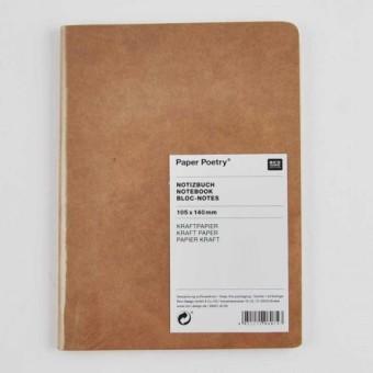personalisiertes Notizbuch DIN A5 Linda 80 blanko Seiten