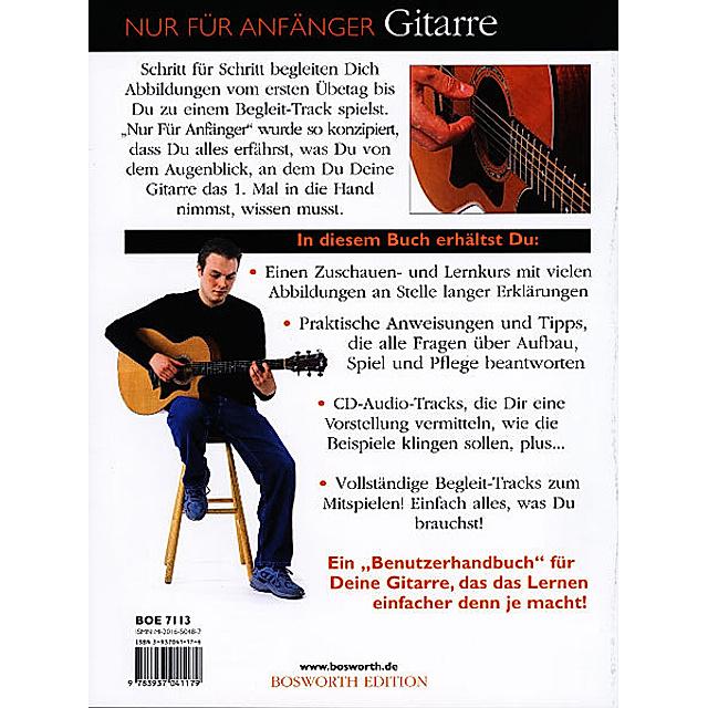 Nur Fur Anfanger Gitarre M Audio Cd Buch Versandkostenfrei Weltbild De