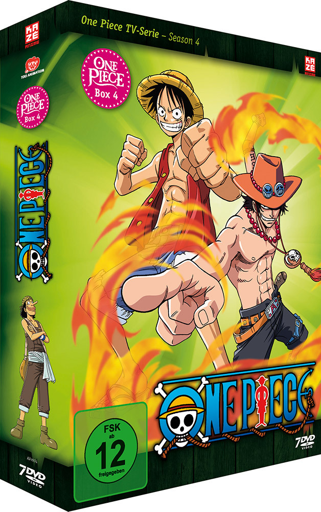 Image of One Piece TV-Serie - Box 4