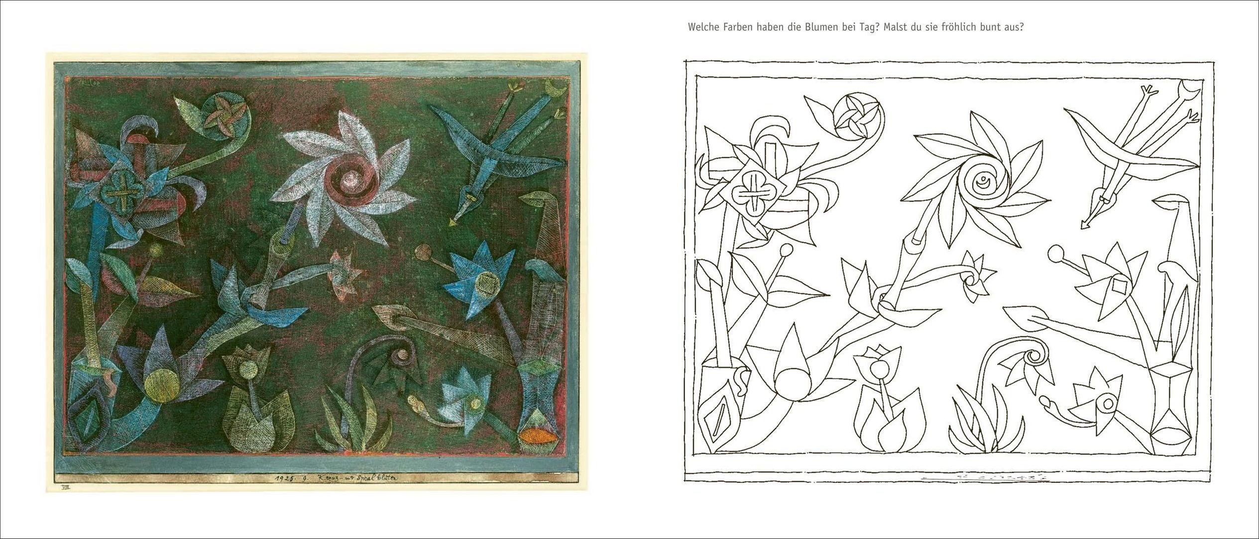 Bilder paul zum ausmalen klee Paul Klee
