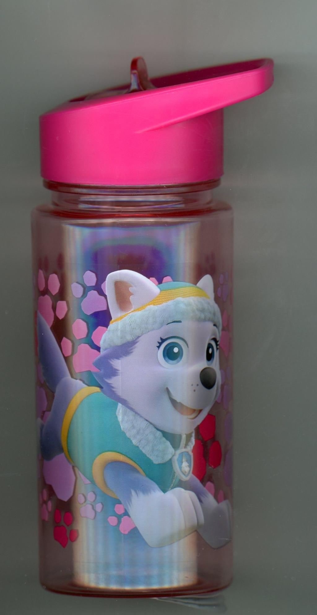BEN Trinkflasche mit Klappdeckel und pop-out Strohhalm BEN von H /& H