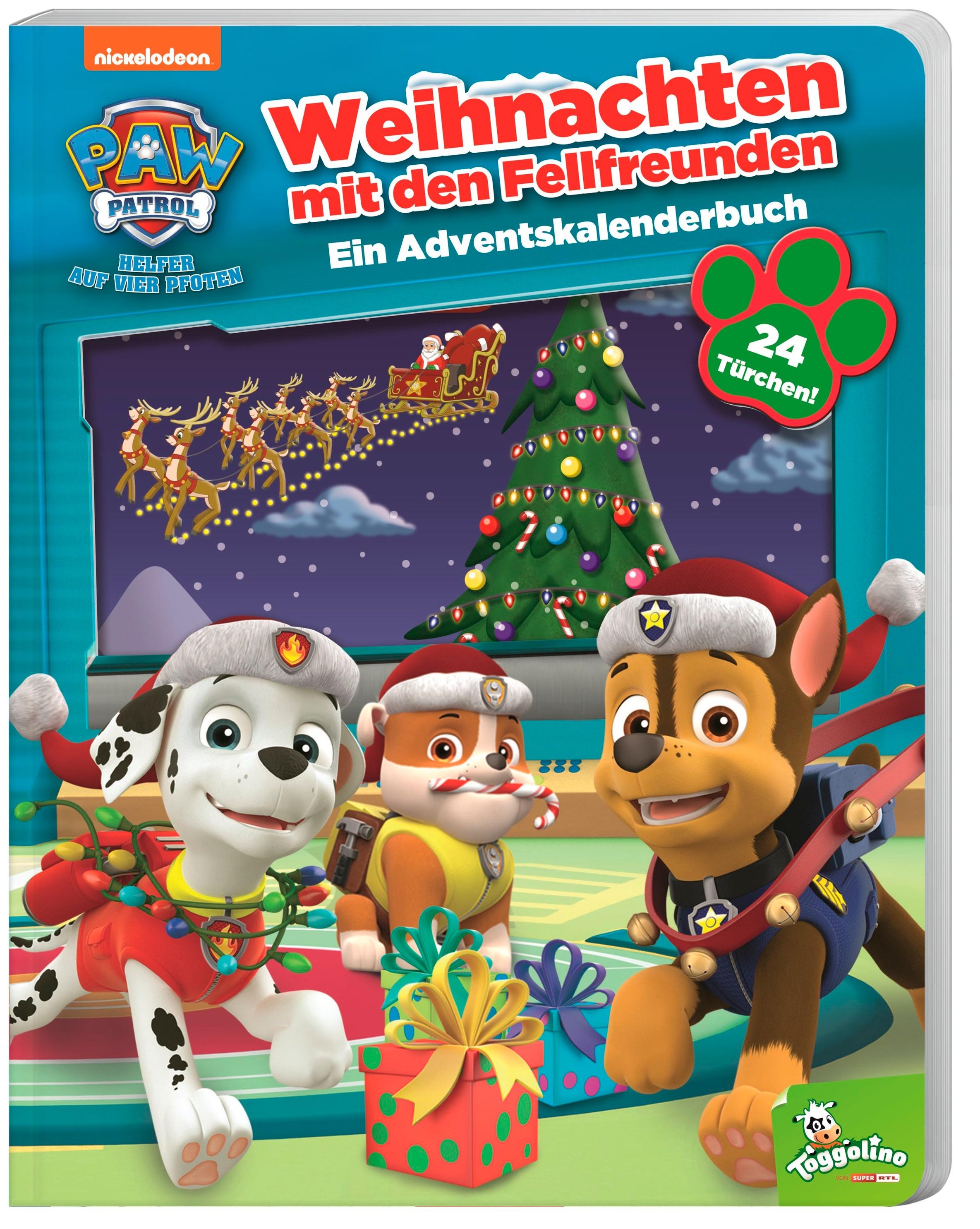 paw patrol weihnachten mit den fellfreunden  ein