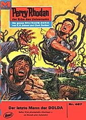 Perry Rhodan-Zyklus Die Cappins Band 467: Der letzte Mann der DOLDA (Heftroman) - eBook - Clark Darlton,