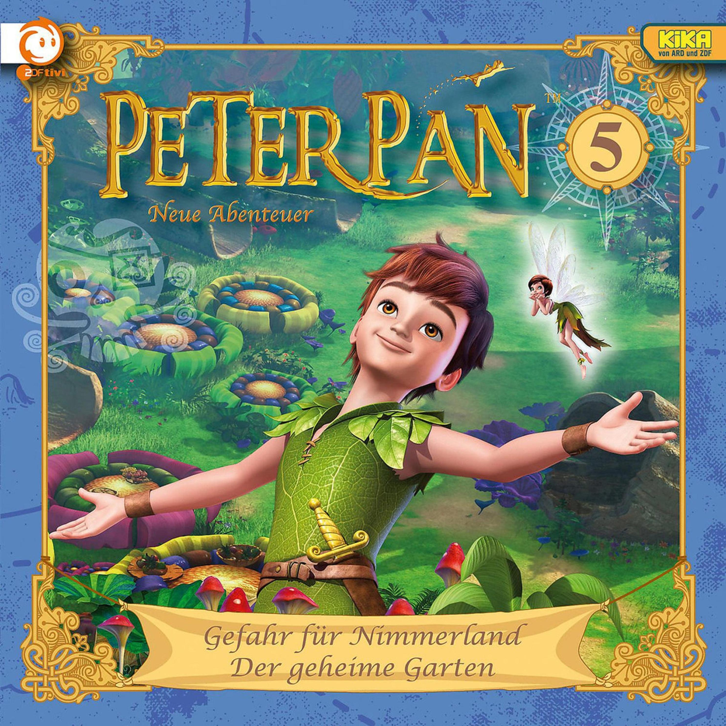 Peter Pan 05 Gefahr Fur Nimmerland Der Geheime Garten Horbuch Download