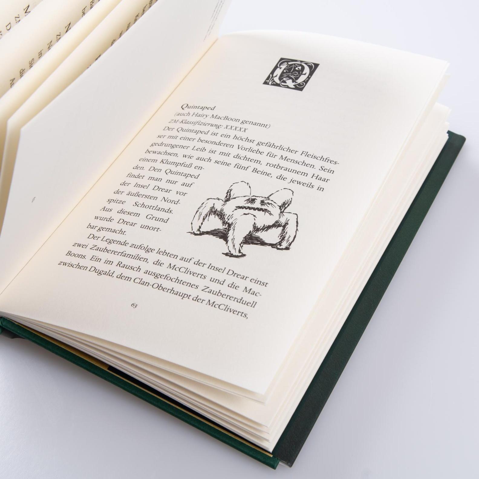 Phantastische Tierwesen Und Wo Sie Zu Finden Sind Buch