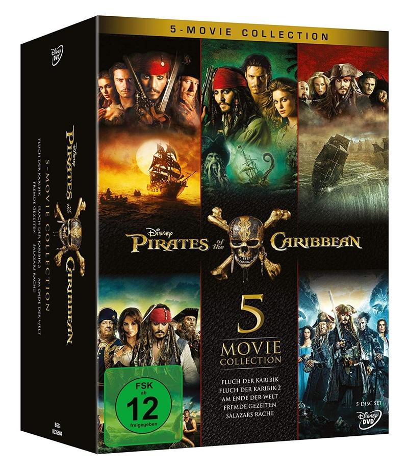 Pirates Of The Caribbean 5 Movie Collection Dvd Weltbild De