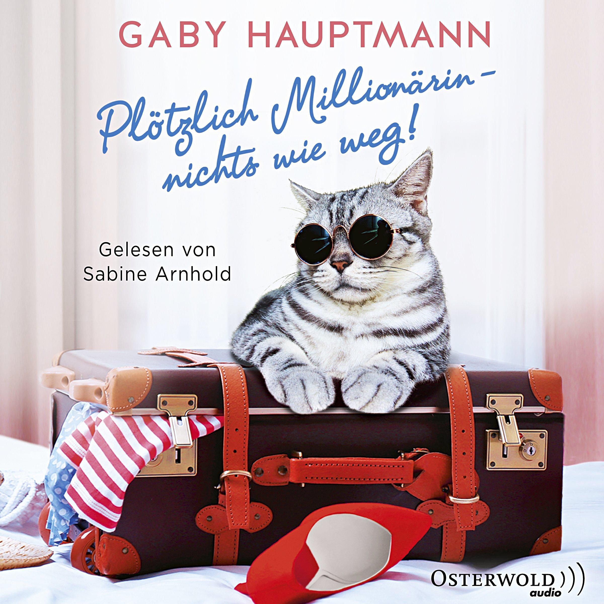 Image of Plötzlich Millionärin - nichts wie weg!, 2 MP3-CDs