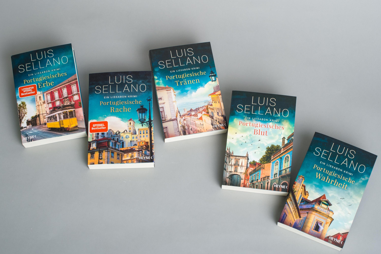 Portugiesisches Erbe Lissabon Krimi Bd.1 Buch