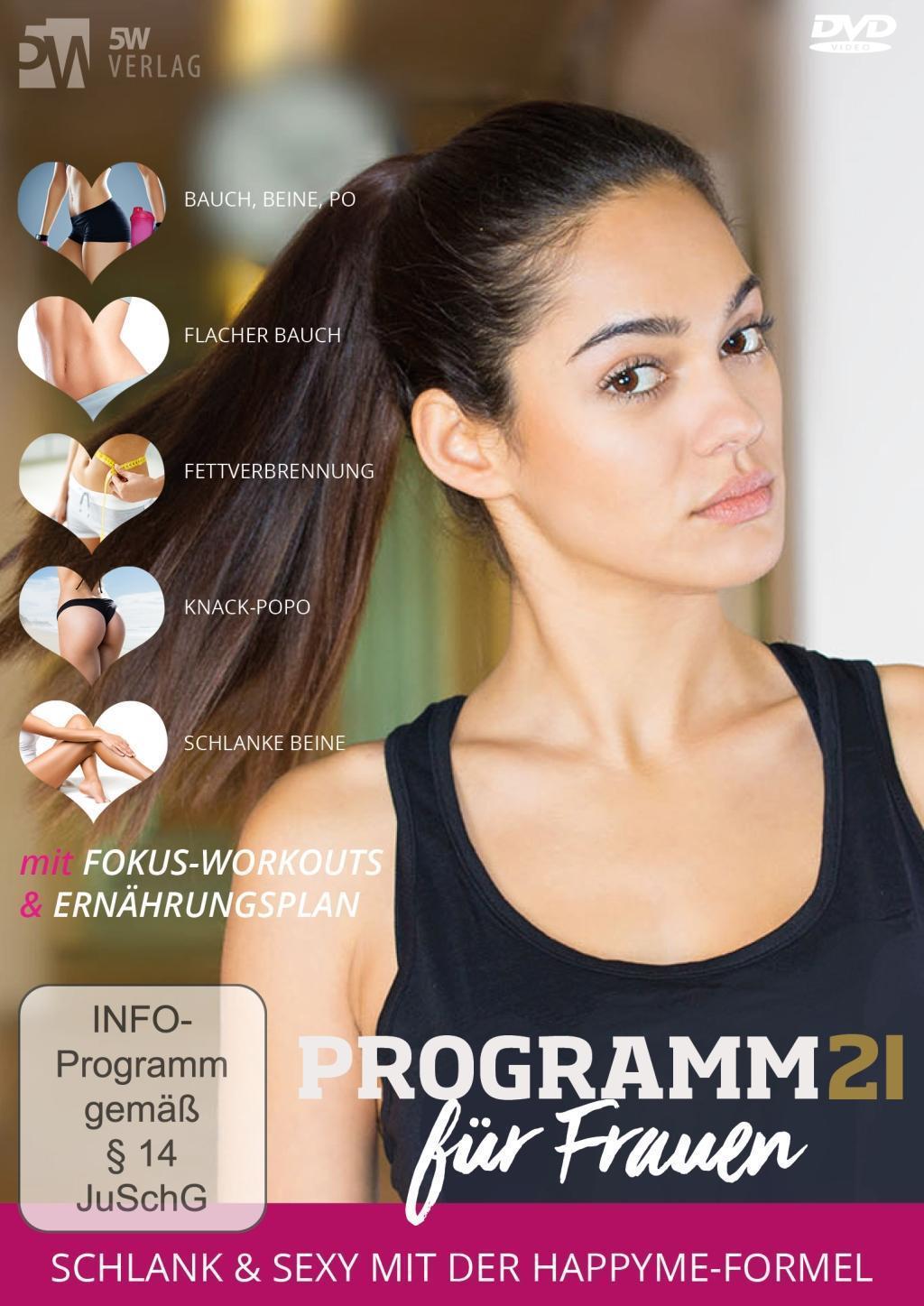 Image of Programm 21 für Frauen, 2 DVD-Videos