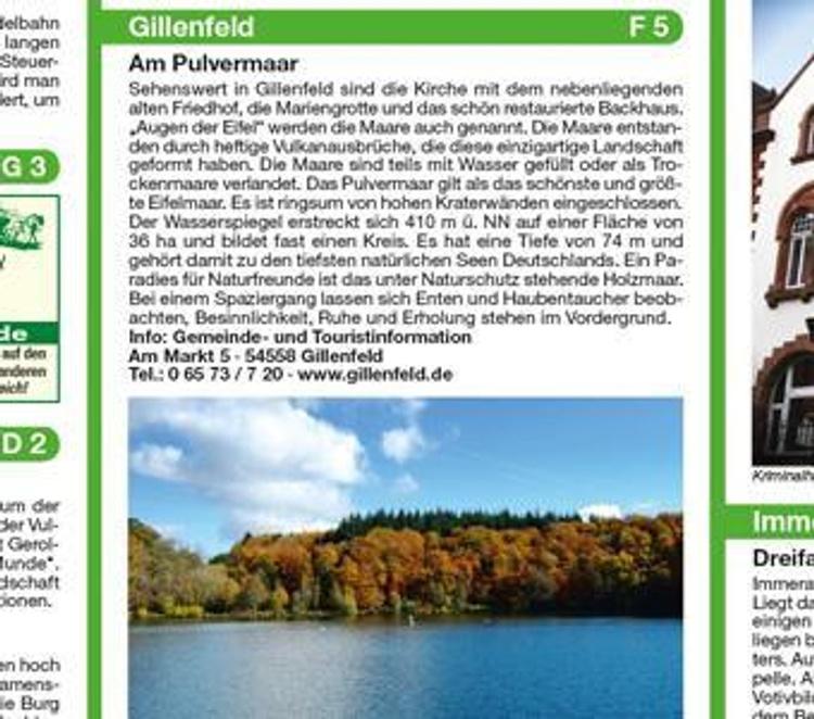 Publicpress Rad Und Wanderkarte Eifel Maare Und Vulkane