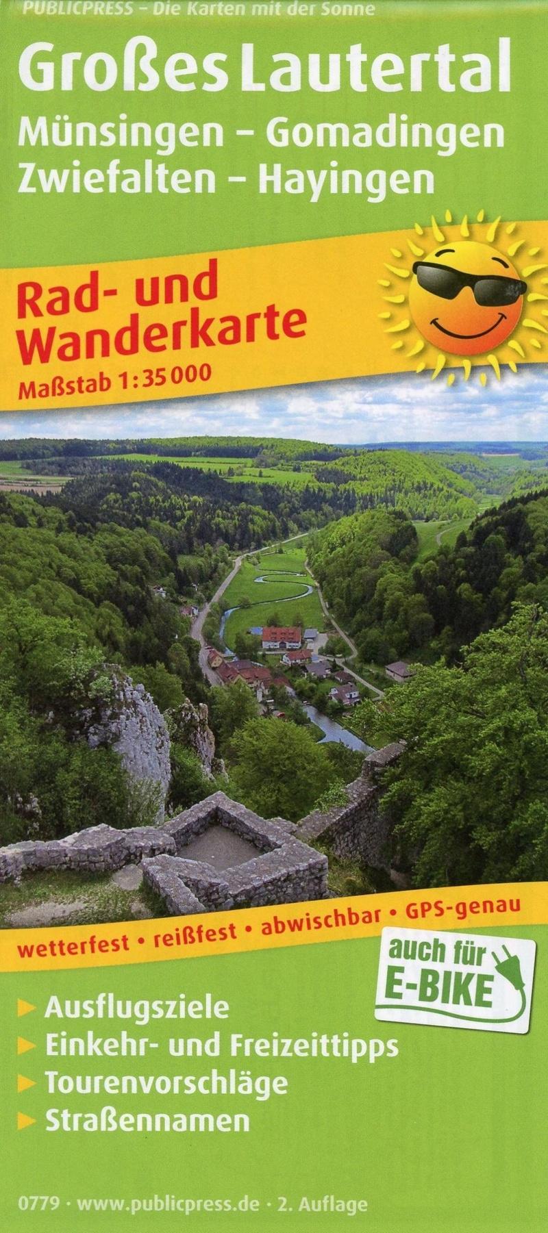Publicpress Rad Und Wanderkarte Grosses Lautertal Buch Jetzt Online Bei Weltbild Ch Bestellen