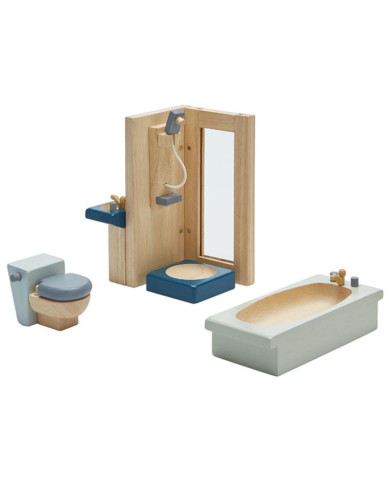 Puppenhaus Möbel BADEZIMMER ORCHARD 20 teilig aus Holz   Weltbild.de
