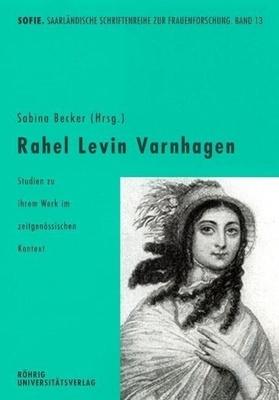 Rahel Levin Varnhagen - die maßgeblich das literarische Leben zwischen 1800 und 1833 mit gestaltete. Nur am Rande hingegen nahm man ihre literarästhetische und literarhistorische Bedeutung zur Kenntnis.  Der vorliegende Band präsentiert Rahel Varnhagen demgegen&u