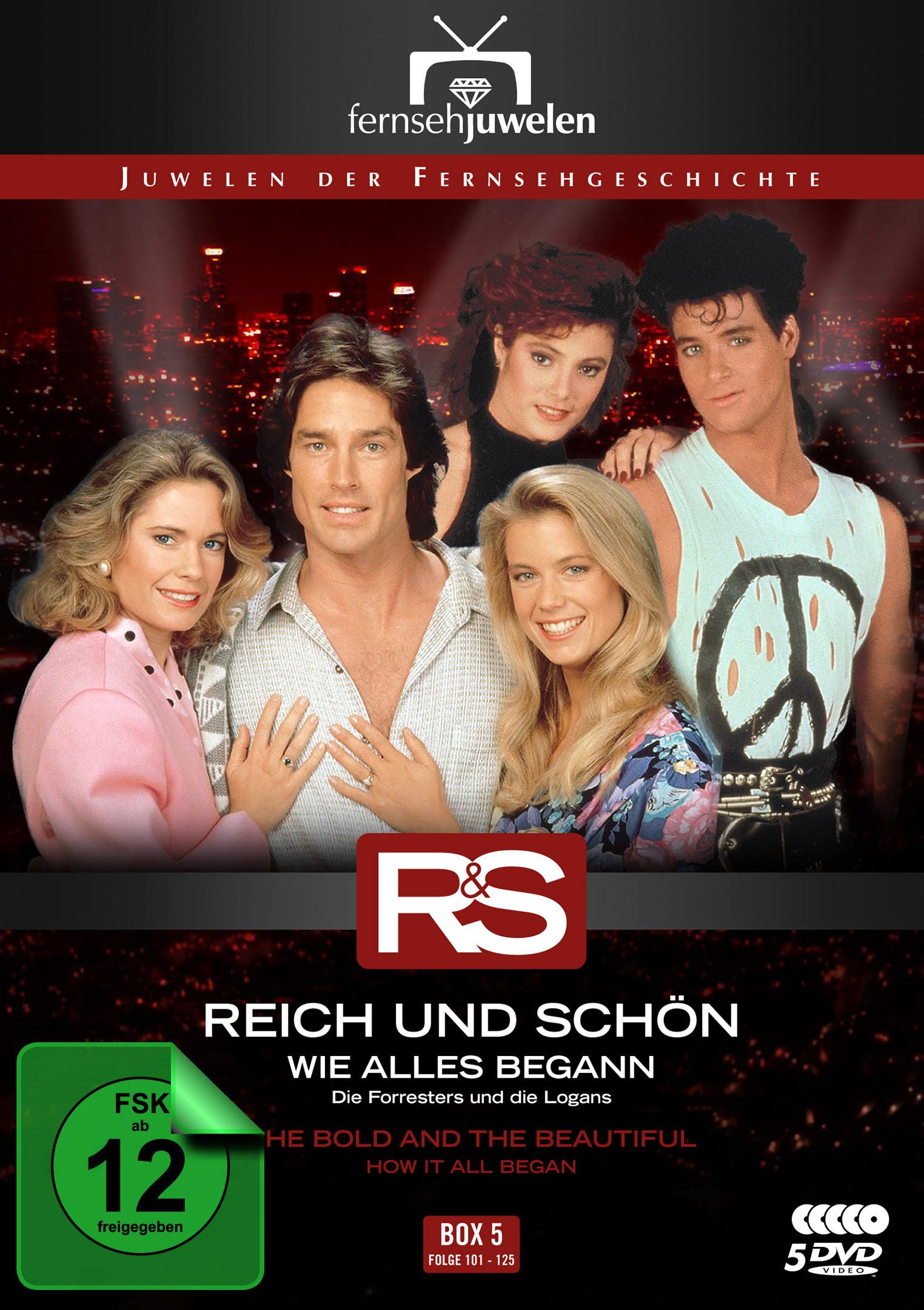 Image of Reich und schön: Wie alles begann - Box 5