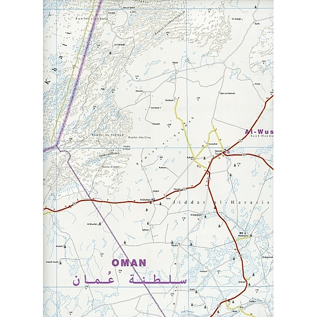 Reise Know How Landkarte Oman 1 850 000 Buch Weltbild Ch