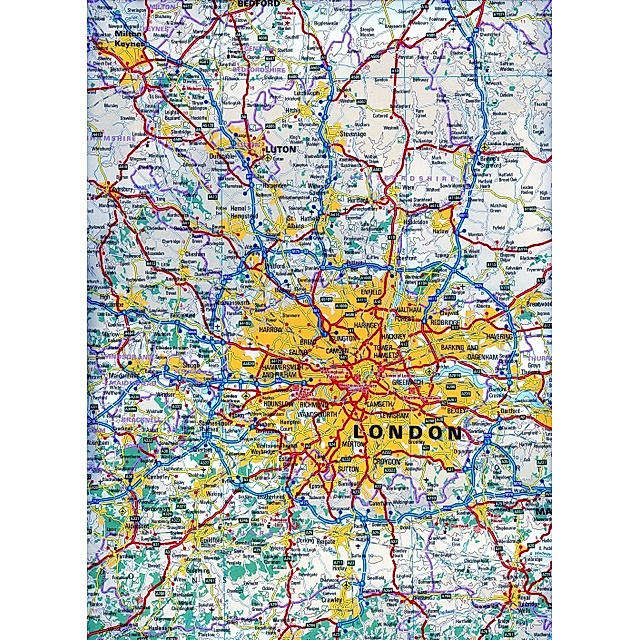 Reise Know How Landkarte Sudengland Wales 1 400 000 Southern