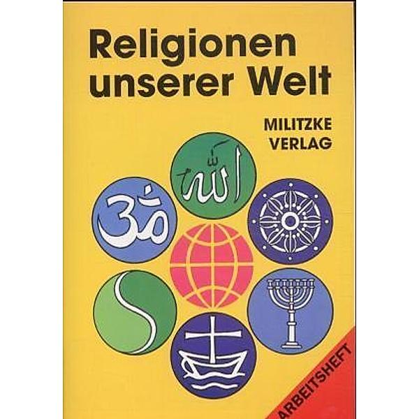 Religionen Unserer Welt Arbeitsheft Buch Versandkostenfrei Bei Weltbild De Bestellen