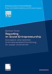 Reporting im Social Entrepreneurship. Barbara Roder, - Buch - Barbara Roder,