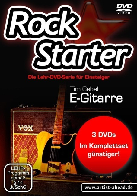 Image of Rockstarter, E-Gitarre, DVD-Video
