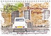 Romantisches Périgord (Tischkalender 2021 DIN A5 quer) - Kalender - Stefan Sattler,