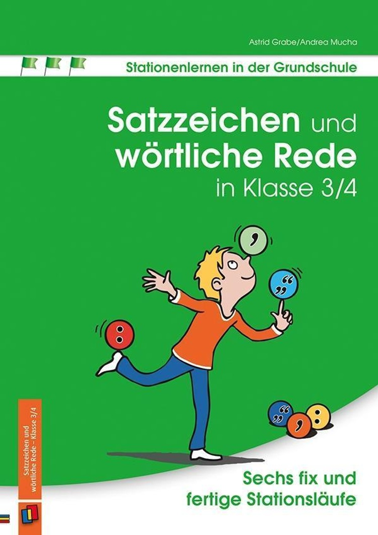 Satzzeichen und wörtliche Rede in Klasse 20/20