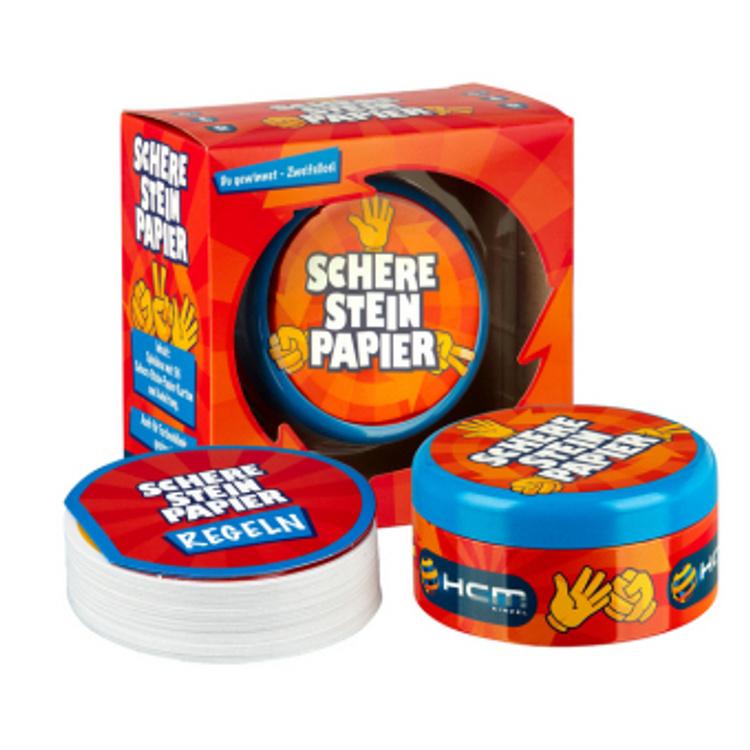Stein-Papier-Schere-Spiel Schere Stein