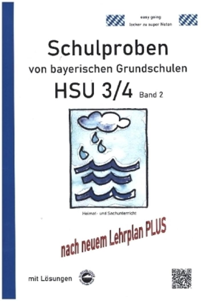 Schulproben Von Bayerischen Grundschulen Hsu 3 4 Mit Losungen Buch