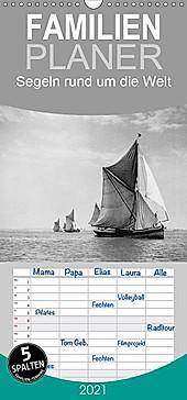Segeln rund um die Welt - Familienplaner hoch (Wandkalender 2021 , 21 cm x 45 cm, hoch): Prachtvolle Segelschiffe auf den Gewässern in der ganzen Welt. (Monatskalender, 14 Seiten )