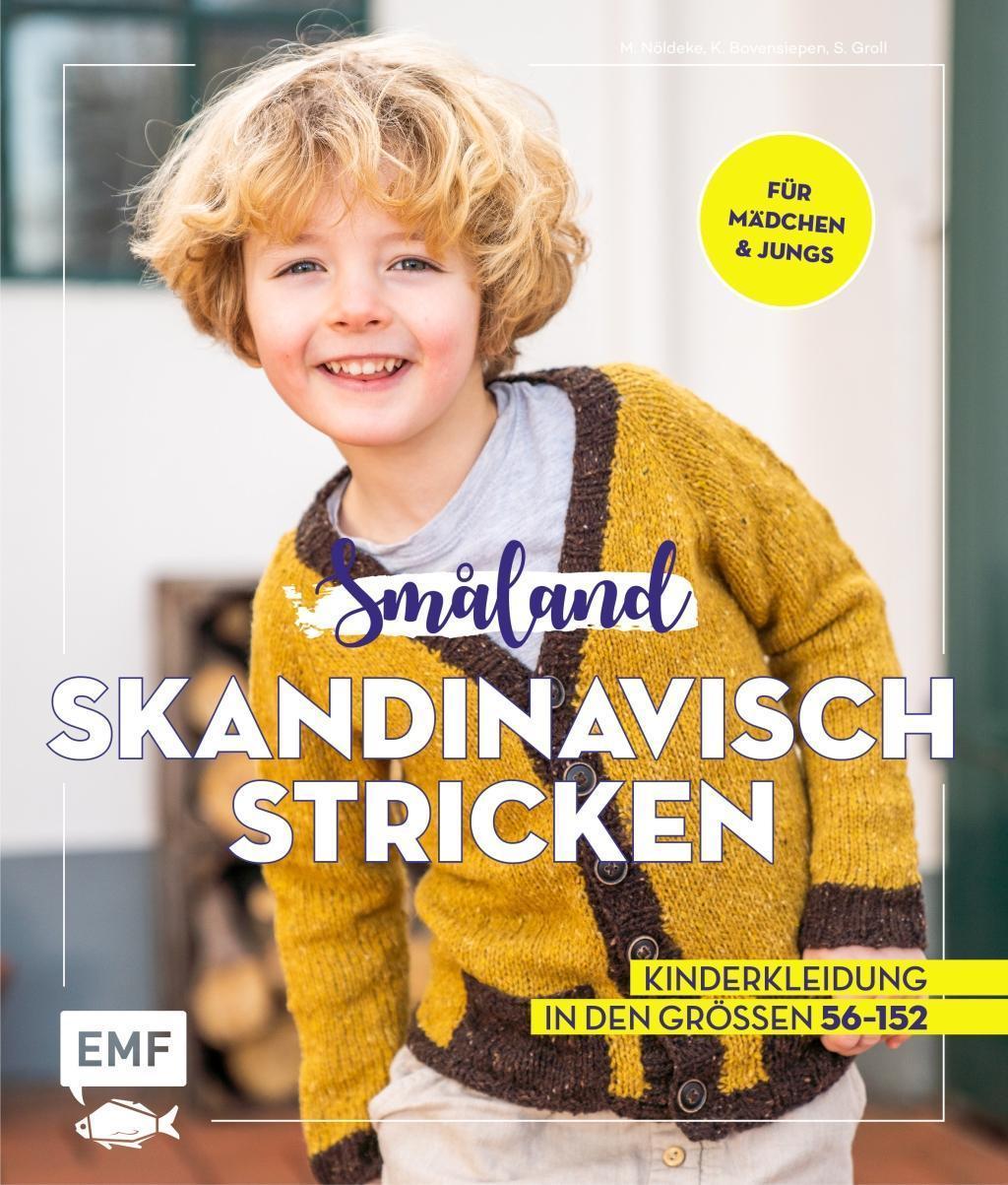 Småland Skandinavisch stricken für Babys und Kinder