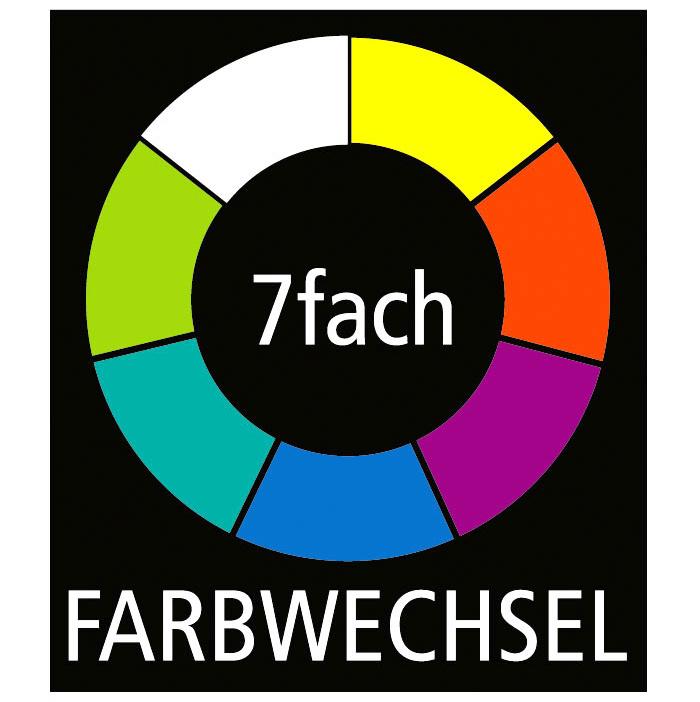 """Solarleuchten /""""Splash/"""" 6er-Set LED 7-fach Farbwechsel Garten Terasse Leuchte NEU"""
