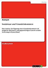 Sozialstaat und Grundeinkommen - eBook - -,