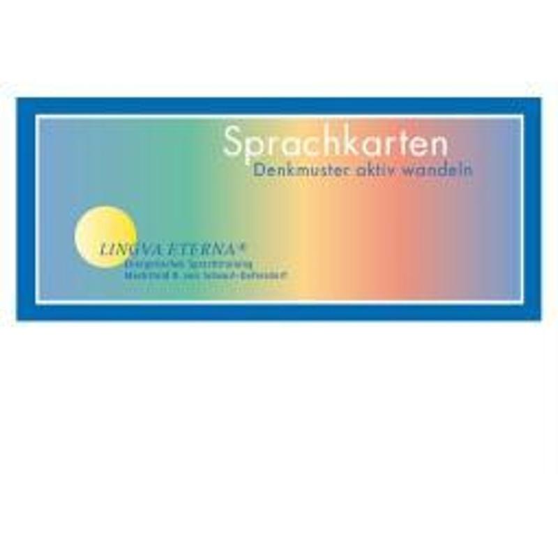 Sprachkarten Denkmuster aktiv wandeln - Mechthild R. Scheurl-Defersdorf