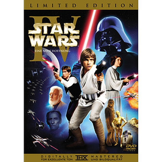 Star Wars Episode Iv Eine Neue Hoffnung Limited Edition Film Weltbild De