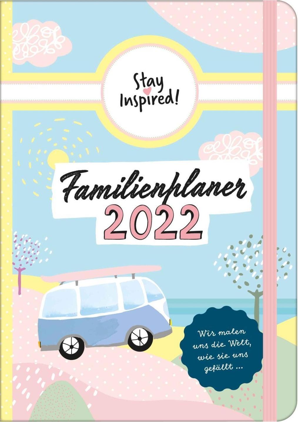 Stay Inspired, Familienplaner 20