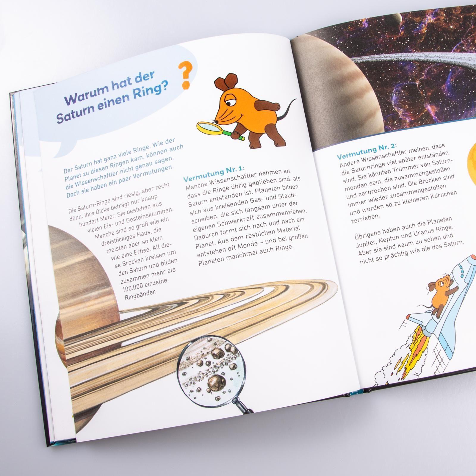 Sterne und Planeten Frag doch mal die Maus! Die Sachbuchreihe Bd.26
