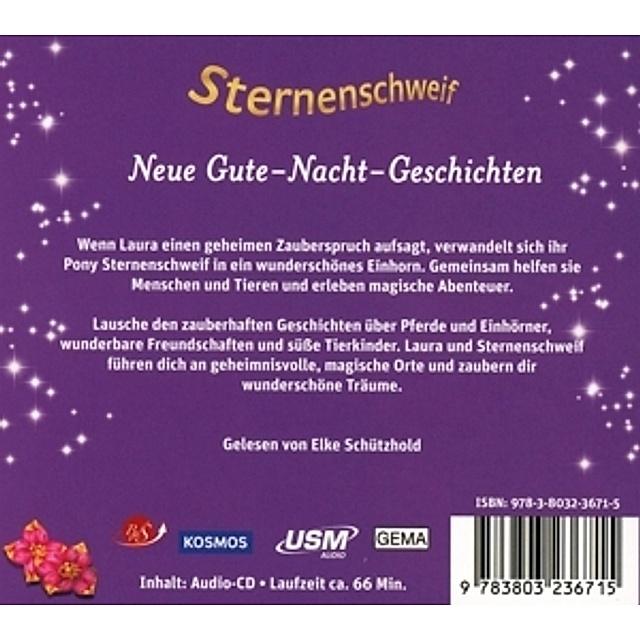 Sternenschweif Neue Gute Nacht Geschichten 1 Audio Cd Horbuch