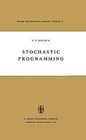 Stochastic Programming. V. V. Kolbin, - Buch - V. V. Kolbin,