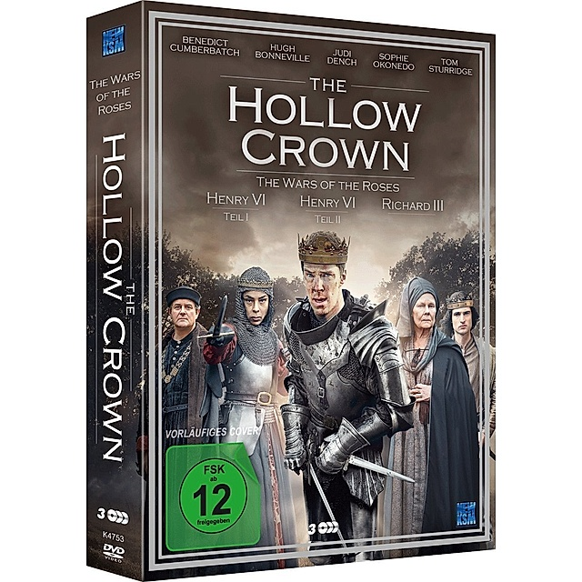 The Hollow Crown Staffel 2 Dvd Bei Weltbild De Bestellen